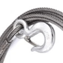 Tow Truck Winch Line Cable