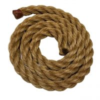 Brown Plastic Poly Manila Rope