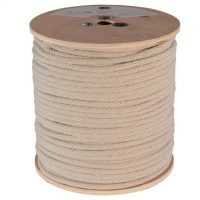 Solid Braid Cotton Sash Cord