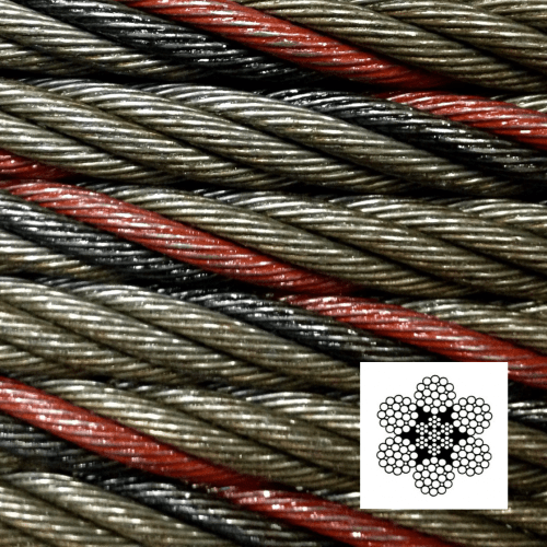 6x19 & 6x37 Class General Purpose Wire Rope