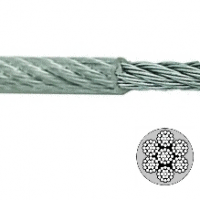 Plastic Coated Aircraft Cable