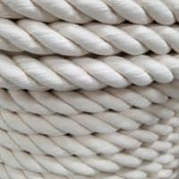 Cotton Rope 3 Strand Twisted